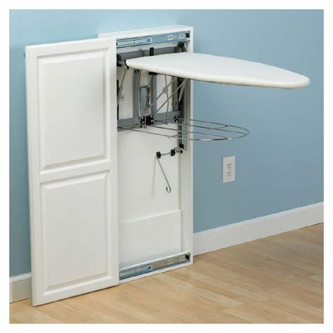 Hide Away Ironing Board Cabinet Bar Cabinet Built In Ironing Board Cabinet