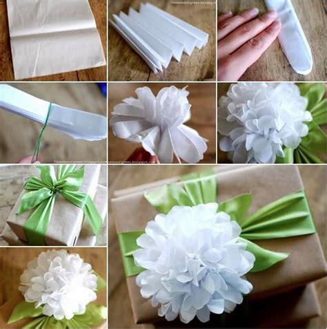 How To Make Paper Pom Pom Flowers - diy paper pom pom flowers beesdiy
