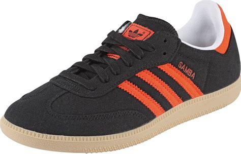 adidas samba vegan shoes black orange