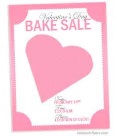 Valentines Flyer Templates Free by Bake Sale Flyers Free Flyer Designs