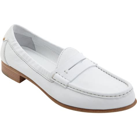 sergio loafers sergio loafer in white lyst