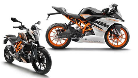 Difference Between Ktm 200 And 390 What Is The Difference Between The Ktm 390 Duke And The Rc