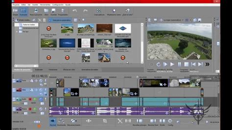 Como Editar En Sony Movie Studio Platinum V 13 Youtube Sony Studio Platinum 13 Templates