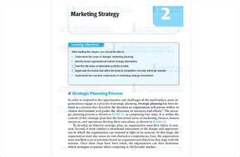 marketing strategy template b2b marketing plan template