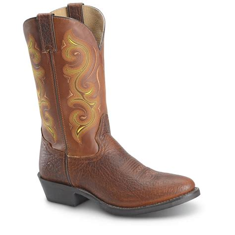 h and h boots h s 12 quot western work boots 666521 cowboy