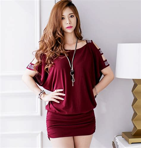 Dress Forever Koreanstyle aliexpress buy new design korean style strapless solid color slim package hip