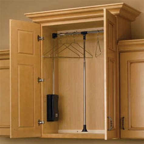 Wardrobe Rod - pull closet rods cpdr series rockler woodworking