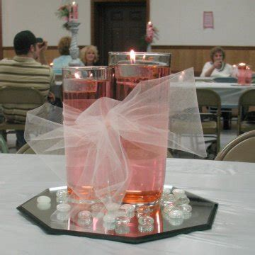 inexpensive wedding centerpieces romantic decoration