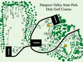 Patapsco Valley State Park Map by Patapsco Valley State Park Professional Disc Golf