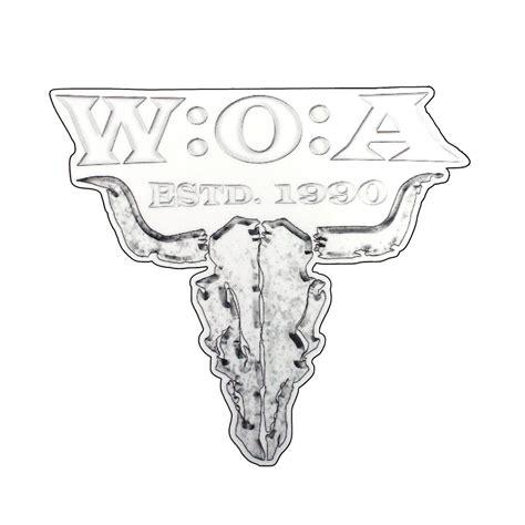 Autoaufkleber Wacken by W O A Aufkleber Sch 228 Estd 1990 Www Metaltix