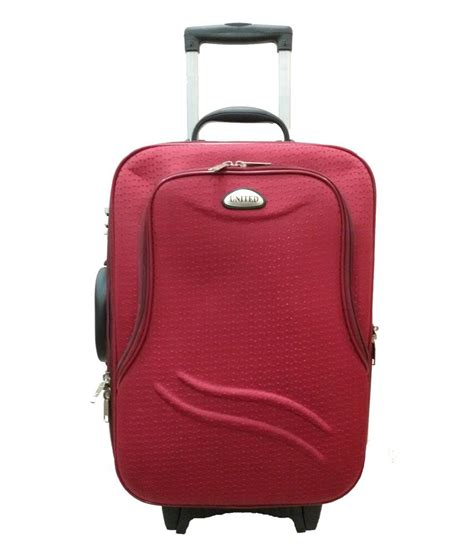 united bags cost united trolley bag red star with expandable space with