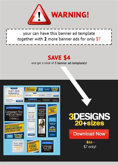 Big Event Banner Ads Psd Template Graphicriver Banner Ad Templates