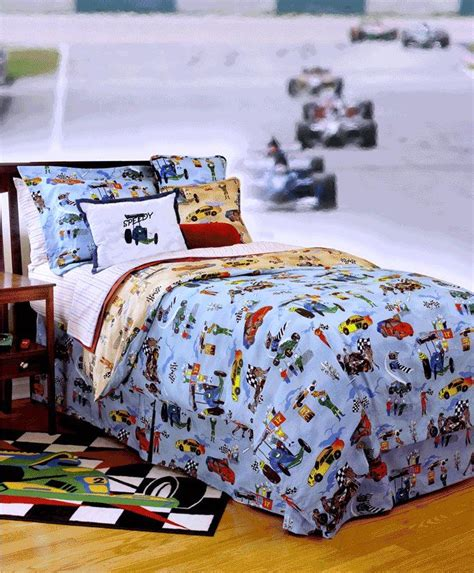 racing bedding race car bedding for boys twin full queen comforters