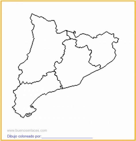 imagenes satelitales para dibujar dibujo de mapa de catalunya imprimir para colorear e imprimir