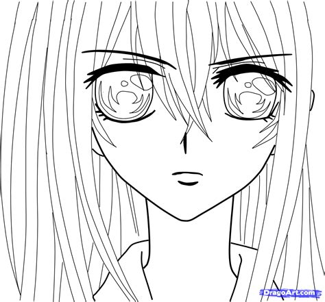 anime coloring page free ams of anime coloring pages