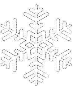 printable small snowflake templates free printable snowflake templates large small stencil