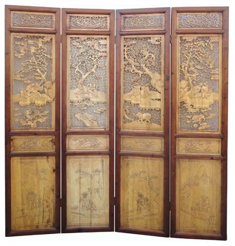 room dividers wall panels antique boxwood four seasons room divider panel