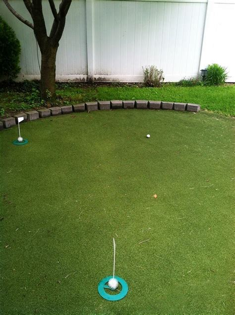 backyard golf best 25 artificial putting green ideas on pinterest