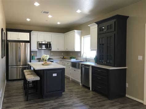 cabinets city of industry mix of bay white and stonedale smokey bronze