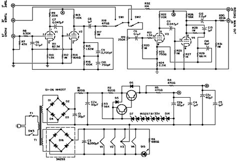 Power Lifier Peavey Cs4000 peavey schematic pv12 get free image about wiring diagram