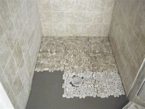 best tile pebble tile shower floor designs best tiles flooring