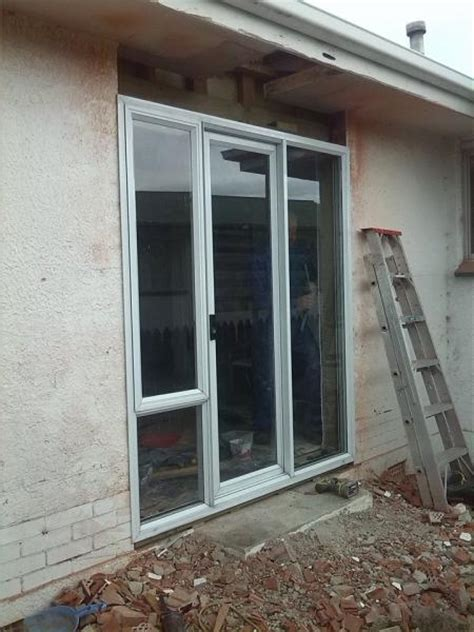 Exterior Door Header Exterior Patio Door Installed Without Header Or King Stud Framing Doityourself