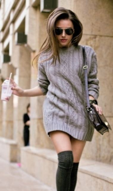 comfy sweater dresses  cold weather styleoholic