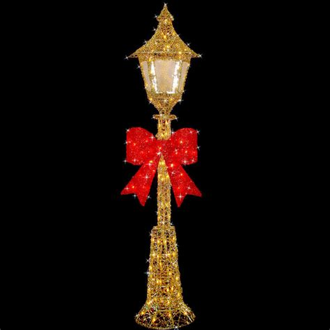 festive decoration company 150cm gold wire l post indoor outdoor festive decoration