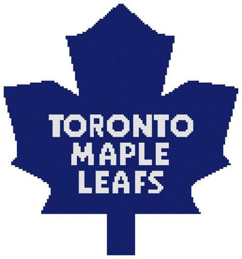 knitting pattern for toronto maple leafs the 10 best images about cross stitch on