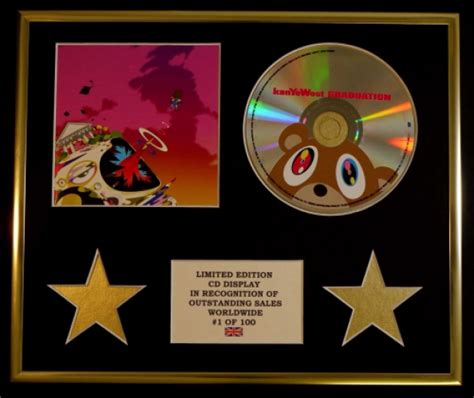 Kayne For Limited Edition At Shopbop by Kanye West Cd Display Limited Edition Coa Graduation