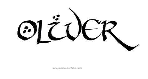 oliver tattoo oliver name designs