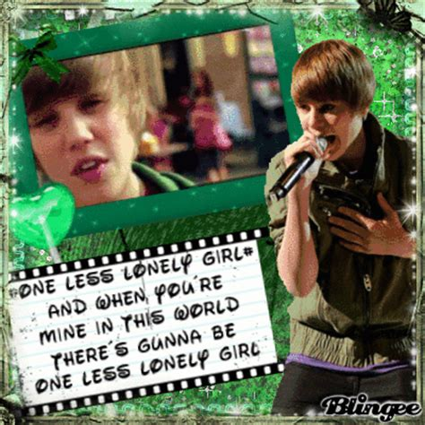 One Less Lonely Says Biebers Baby by Justin Bieber One Less Lonely Fotograf 237 A 121010696