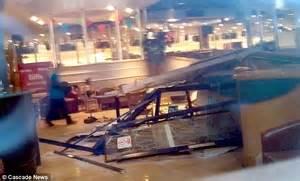 Ford Lanes Bowling Smashes Boyfriend S Car Through Bowling Alley Where