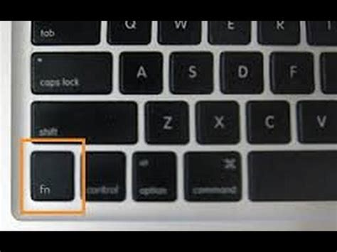 how to lock the fn key tutorial youtube