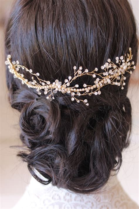 gold bridal pieces percy handmade