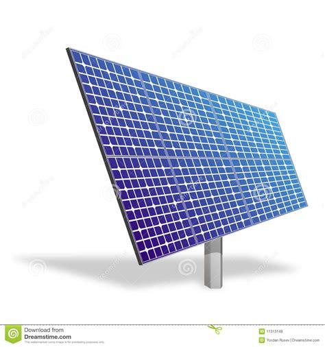 solar panel ecological power royalty free stock photos