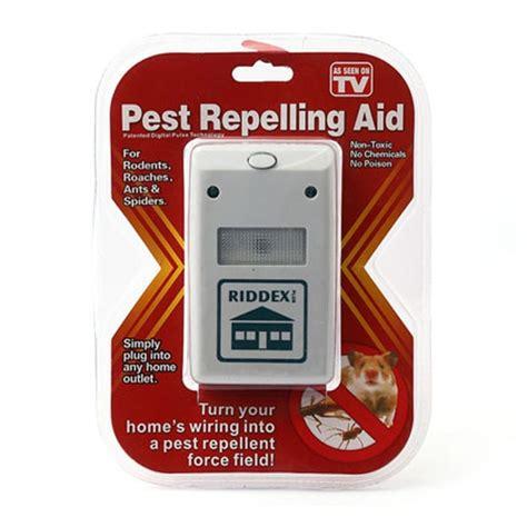 Riddex Pest Repelling Aid Ultrasonic Anti Tikus Nyamuk Kecoa riddex 220v pest repelling aid electronic ultrasonic rat mouse repellent anti repeller eu