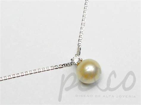 cadena de oro blanco colombia aderezos para novia bogota colombia pecco joyas