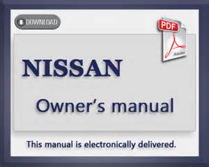 Nissan Owners Manual Nissan Altima 1997 Owners User Manual Pdf
