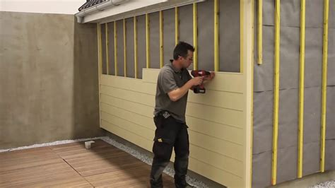 How To Install Shiplap Cladding by Fortex Cladding Installation Demo