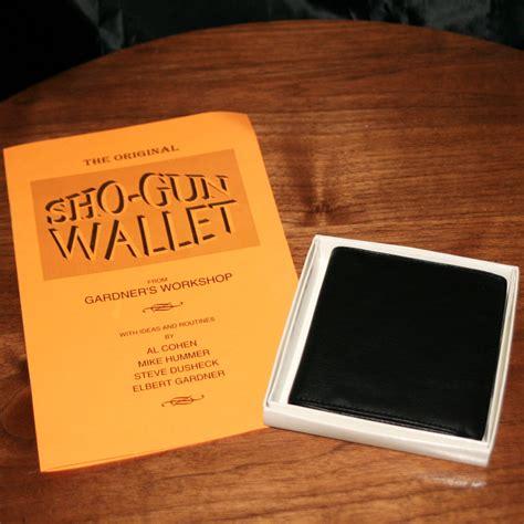 Sho Wallet sho gun wallet by elbert gardner martin s magic collection