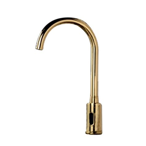gold kitchen faucet gold plated sensor kitchen faucet