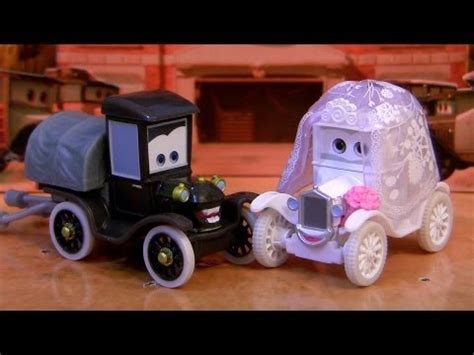 Cars Stanley & Lizzie Wedding Day Gift Pack Time Travel