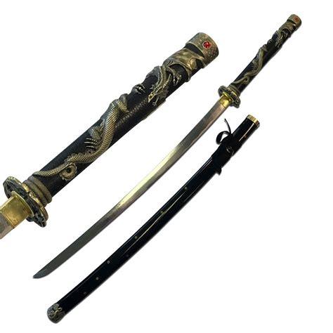 Katana Kitchen Knives ten ryu fully functional fantasy dragon katana swords of