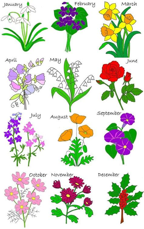 january birth flower tattoo birth flowers birth stones flowers kid
