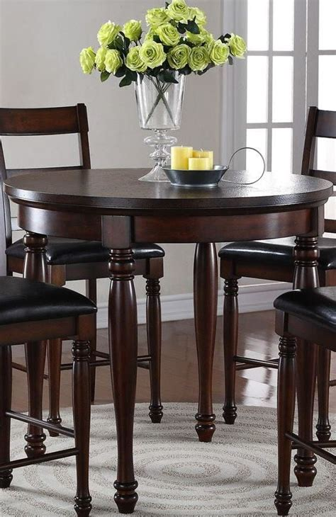 42 Height Dining Table Breckenridge Brown 42 Quot Counter Height Dining Table From Legends Furniture Coleman Furniture