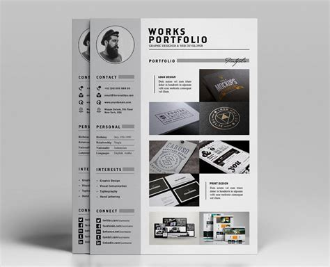 Resume Portfolio Template by Resume Portfolio Template Ya