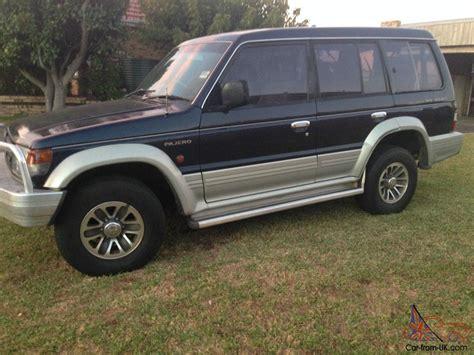 mitsubishi pajero gls lwb 4x4 1995 4d wagon 4 sp automatic 4x4