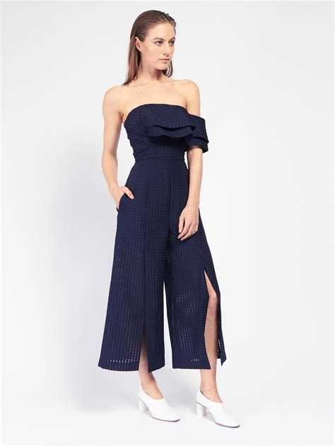 Vivien Jumpsuit Navy by Chan Mari Jumpsuit Garmentory
