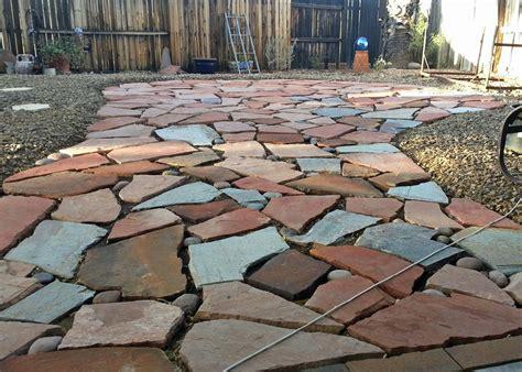 Flagstone Patios for Your Yard   DesignWalls.com